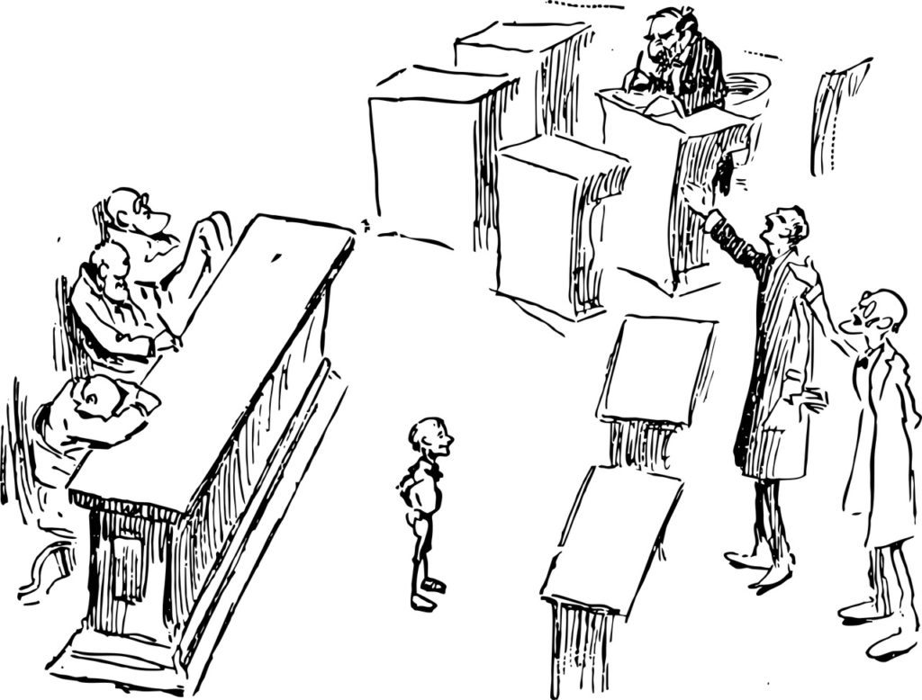 court jury debate image