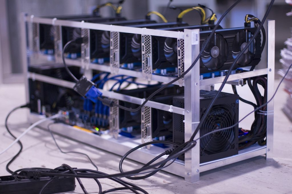 cryptocurrency mining image